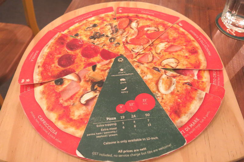 Peperoni Pizzeria At Greenwood Avenue Bukit Timah Eatandtravelwithus