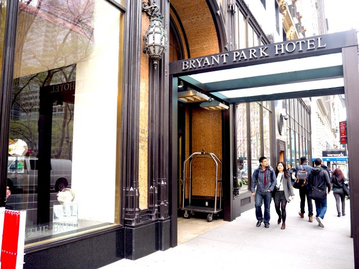 The Bryant Park Hotel Review Luxury Boutique Hotel In Manhattan New York City Eatandtravelwithus
