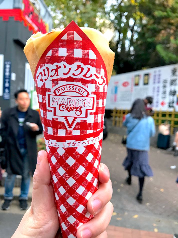 Marion Crepes Harajuku Famous Japanese Crepes Super Delicious And Satisfying Eatandtravelwithus