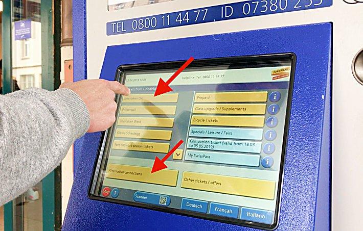 How to Use Train Ticket Machines in Switzerland