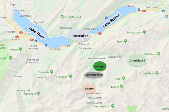 Where to Stay In The Jungfrau Region of Switzerland - The ... on frankfurt map, chianti wine map, london map, germany map, jungfraujoch train map, top of europe map, central europe map, swiss map, zermatt map, lugano map, western europe map, matterhorn map, interlaken map, vatican city map, bern map, st. moritz map, barcelona map, indo-pacific map, sub-saharan map, pennine alps map,