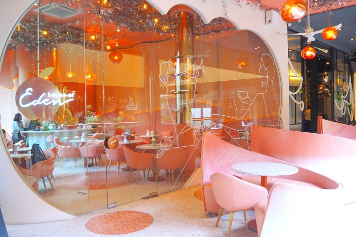House Of Eden Bangkok Review Pink Themed Cafe Serving